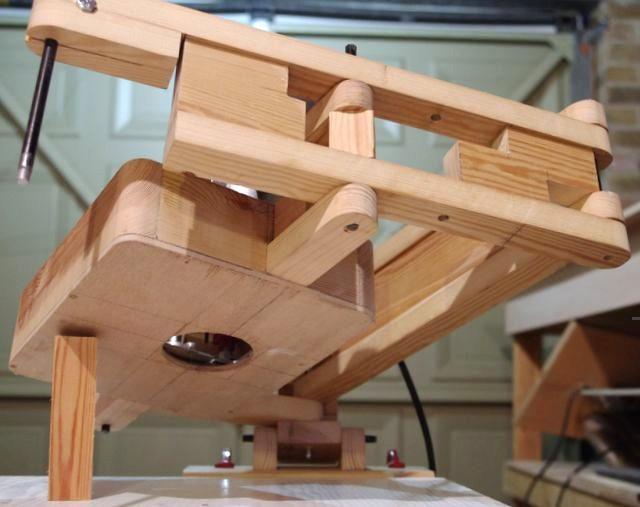 Miguel Ruiz's router pantograph