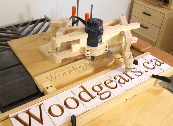Router pantograph recommendations for Router lettering templates