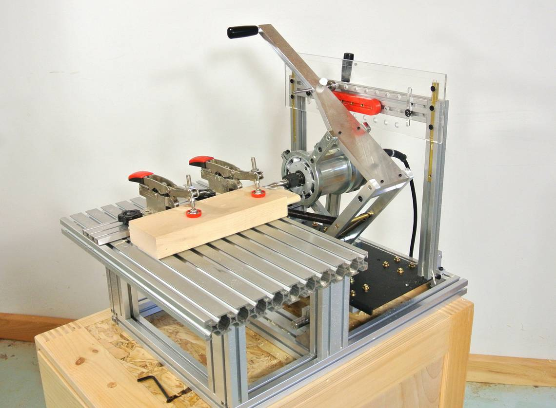 Buy a pre built all metal pantorouter old 2013 page for Leigh isoloc hybrid dovetail templates