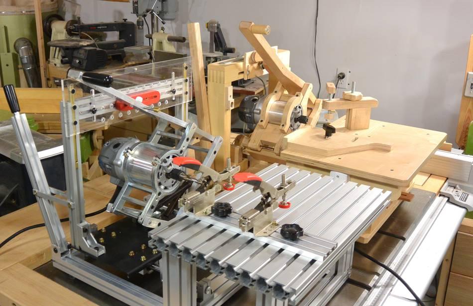 pantorouter machine