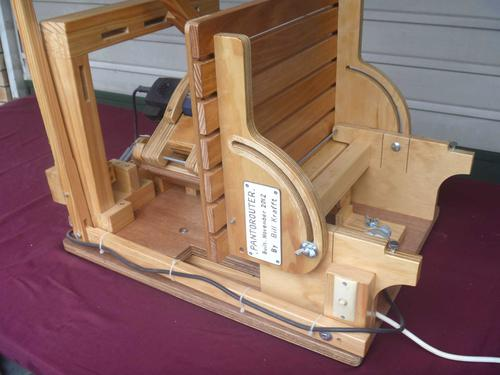 Bill Kraft's Pantorouter with Tilt-up table