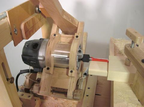 Making large mortise and tenon joints with the pantorouter