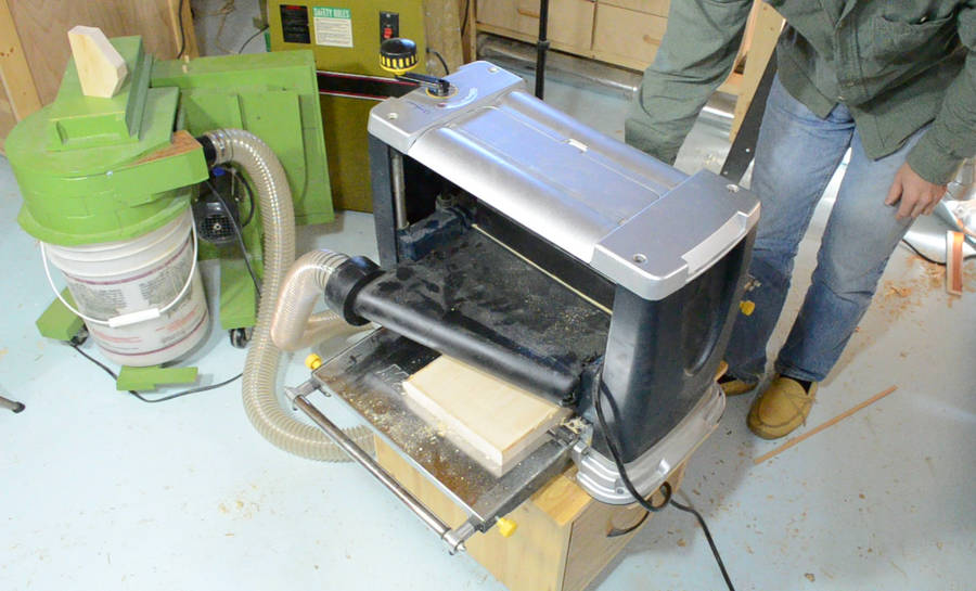 Changing Planer Knives