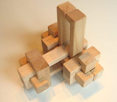 24 piece burr puzzle