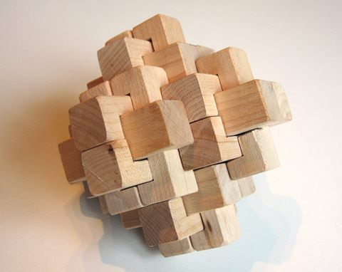 like the appearance of this puzzle. Considering how complex it looks ...
