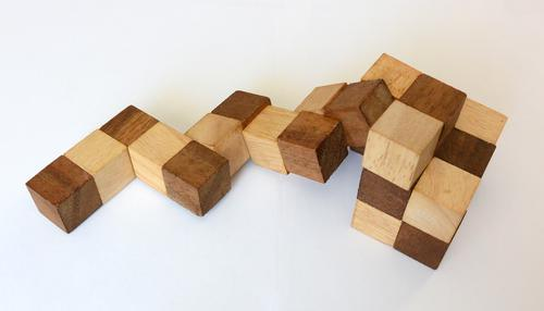 Building A Snake Cube Puzzle