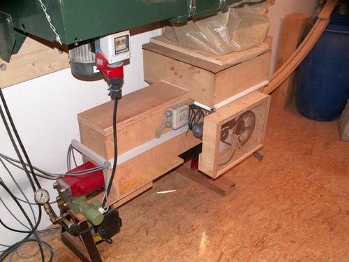 Homemade wood briquette press ftempo