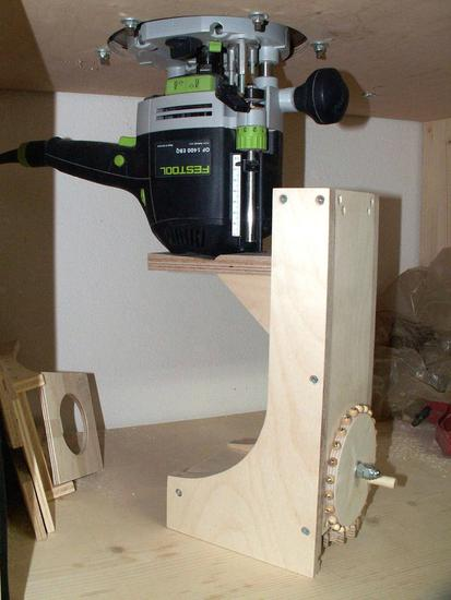 Plunge Router Table Router Alois 39 s Plunge Router Lifter