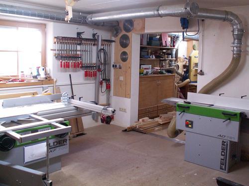 Alois Schmid S Basement Workshop