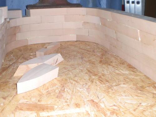 Mitja Narobes Wooden Bathtub Build