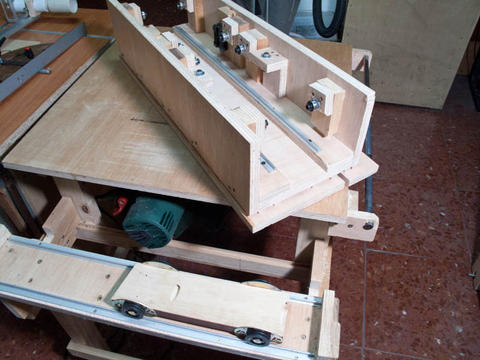 Lucas Contreras S Homemade Table Saw
