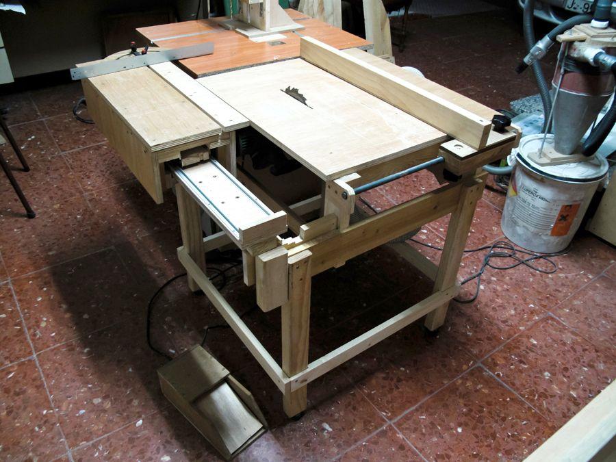 Lucas Contreras 39 S Homemade Table Saw