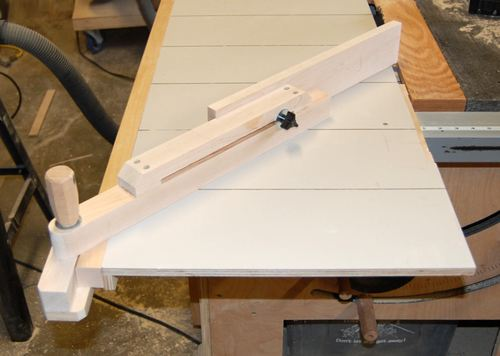 Table Saw Homemade The Best : More details about this table saw on John Heiszs website
