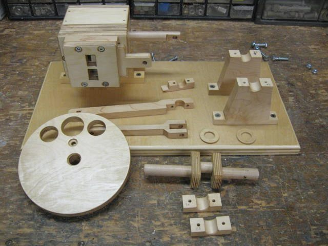 plans wooden air engine