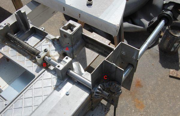 Table Saw Gears : John heisz s homemade table saw