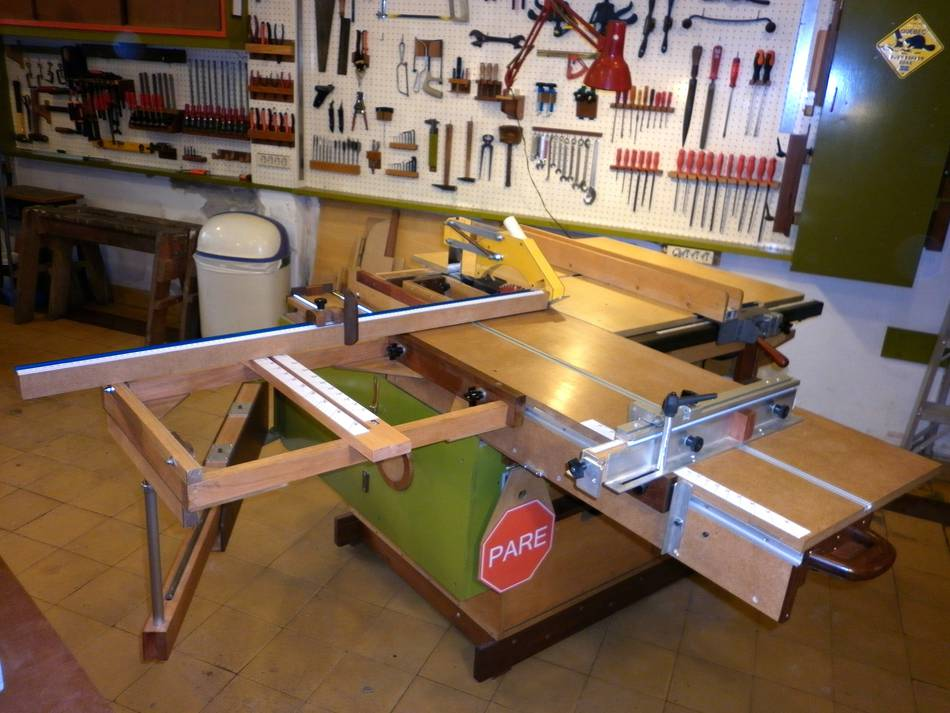 how to add a riving knife to a table saw
