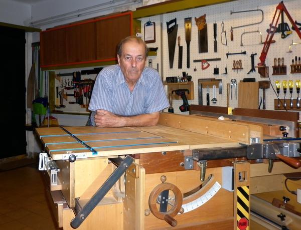 Hector Acevedo S Homemade Table Saw