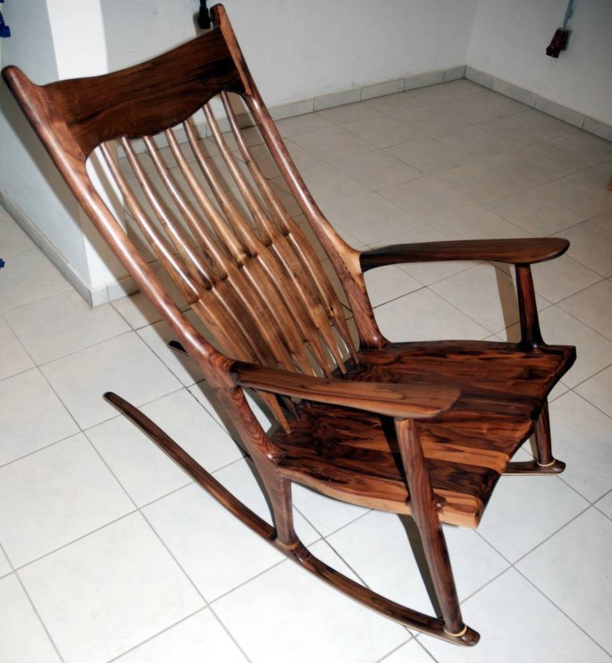 Woodwork Rocking Chair Plans Sam Maloof PDF Plans