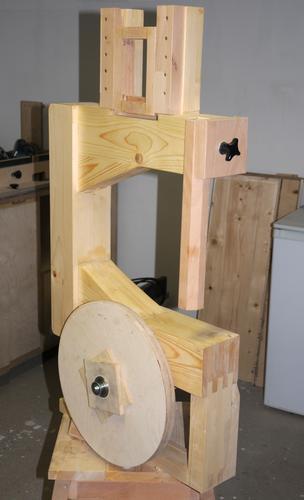 Hessam Sane S Wooden Bandsaw