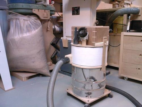 Dust Extractor Fan : Jens larsen s dust extractor thien baffle modifications