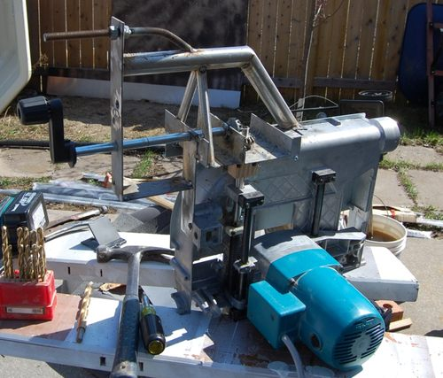 John heiszs homemade table saw greentooth Image collections