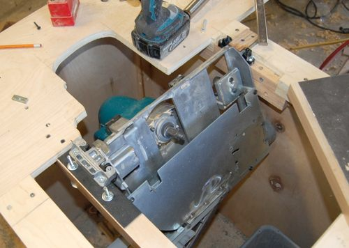 John Heisz S Homemade Table Saw
