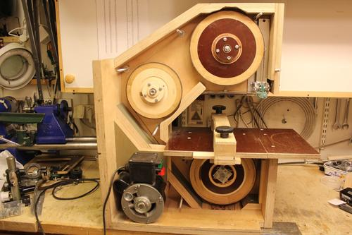 The first bandsaw I owned was a three-wheeled, metal-bodied hobbyist ...