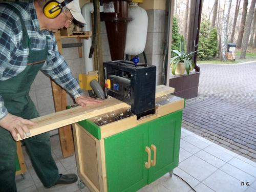 CIPTAREKAMESIN: Ryszard's jointer build