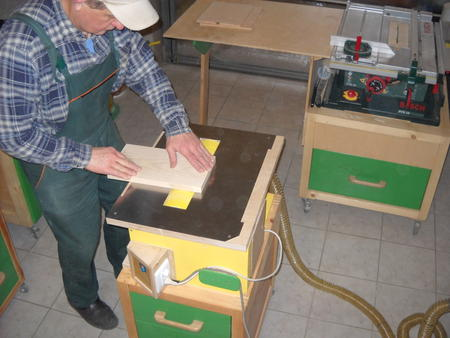 Wood Thickness Planer >> Ryszard's drum sander