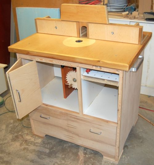 John heisz 39 s router table for Home built router
