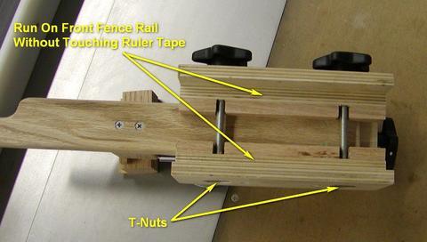 Diy Table Saw Rip Fence Micro-Adjust Table Saw Fence Adjuster