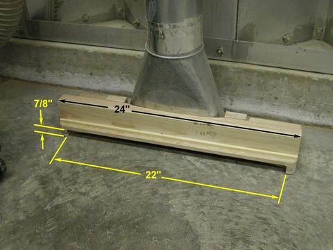 Dust Collector Floor Sweep Adaptor