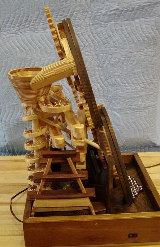 Ronald Walter S Marble Machine