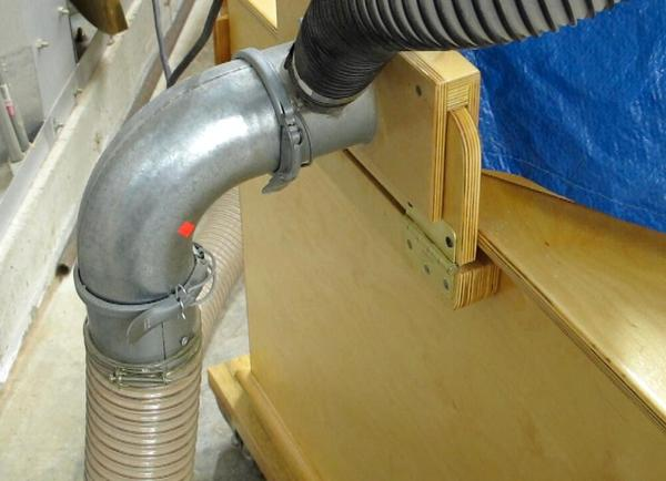 Compound Miter Saw Dust Collection