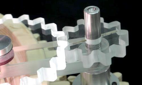 Making Plexiglass Gears