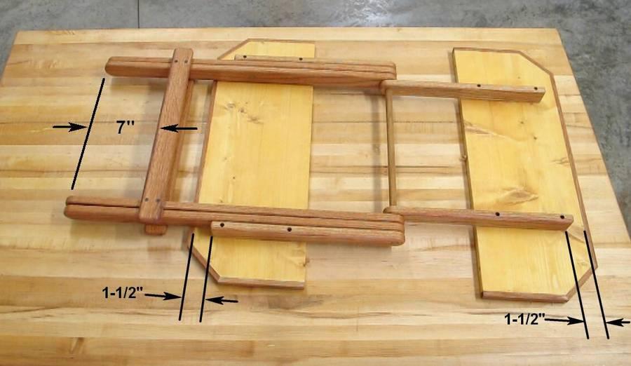 Folding Tv Table