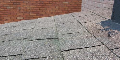 With Roughly A 2:12 Slope On This Roof, It Doesnu0027t Take Much Of A Ripple On  The Roof To Reverse The Slope And Cause Water To Flow Back Into The  Shingles.