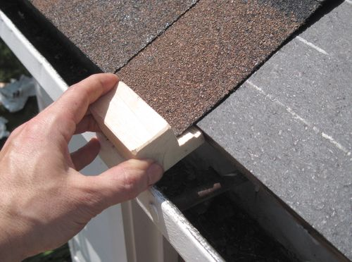 Once The Tar Paper On, The Roof Is Protected From The Elements Even If The  Shingling Isnu0027t Done Yet.