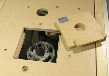 Router table insert plate plans plans for 3 step wood stool be sure its centered and oriented so that your router will be convenient to operate once its mounted under the table keyboard keysfo Gallery
