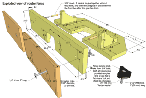 Tilting router lift plans preview table fence keyboard keysfo Gallery