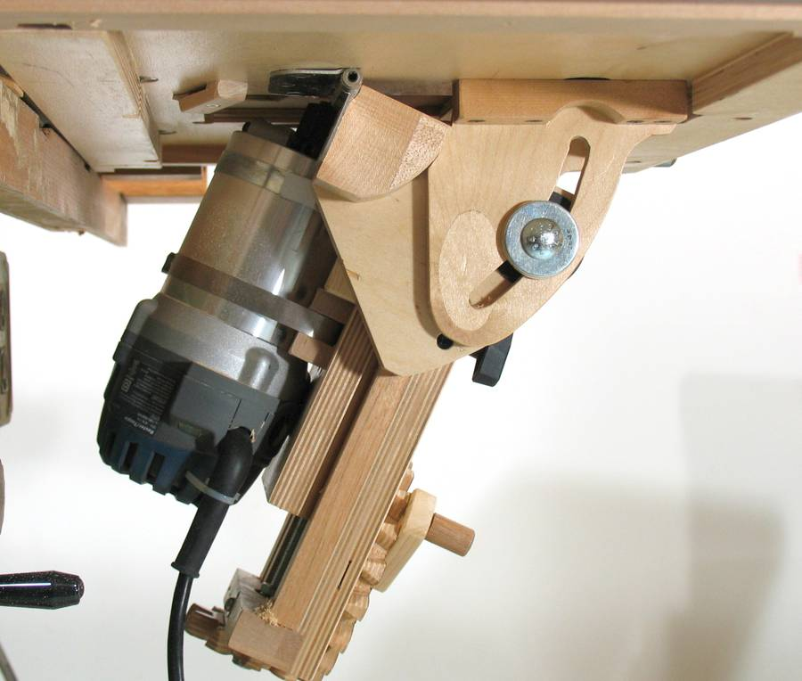 Building The Tilting Router Lift