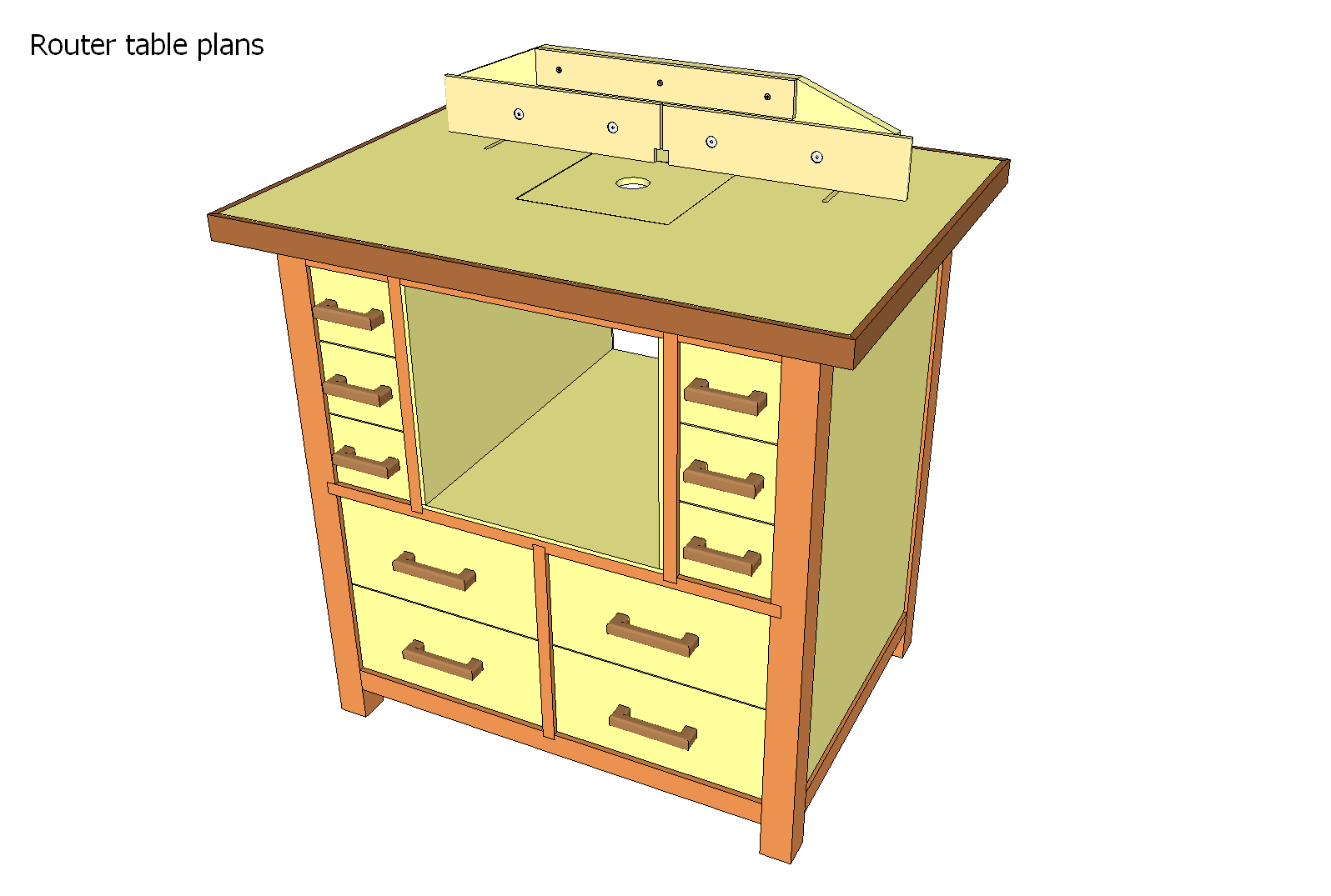 Router table plans printer optimized for Table design plans