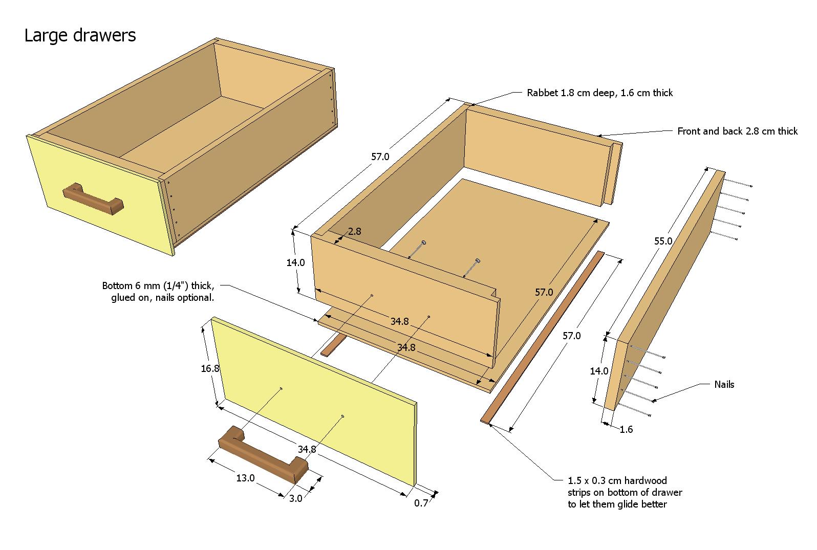 Building drawer slides from wood joy studio design for Plan design build