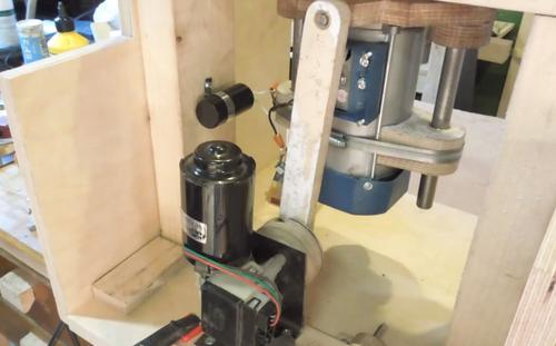 Windshield Wiper Motor >> Simon Heslop's oscillating spindle sander
