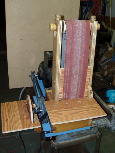 Kyle Scott S Homemade Belt Disk Sander