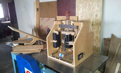 Lucian S Oscillating Spindle Sander