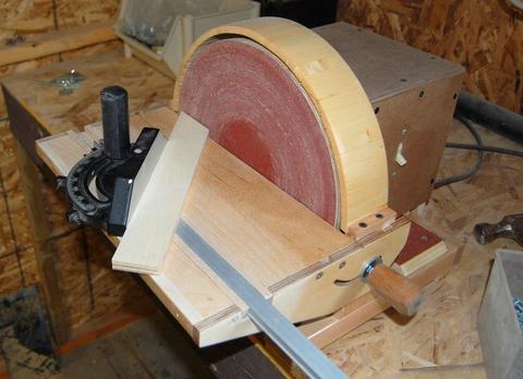 John Heisz S Homemade Disk Sander
