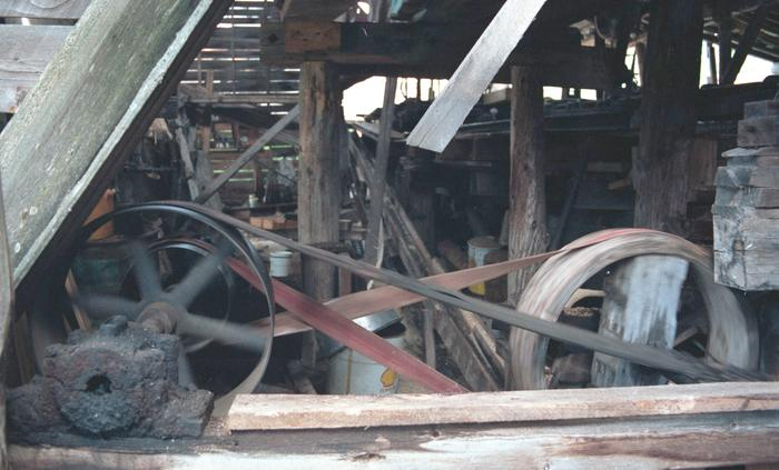 Asam Brothers Steam Powered Sawmill Photos