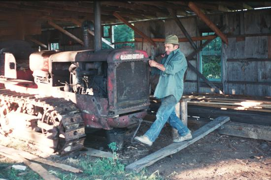 Used Portable Sawmills For Sale >> My dad's old sawmill