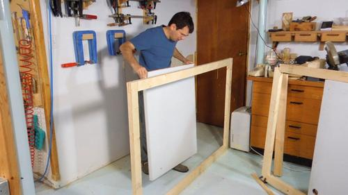 A major challenge with making wooden doors is making sure they stay flat. A twisted door just won\u0027t close flush and if any part of the frame has a tendency ... & Making doors for the shed Pezcame.Com
